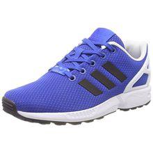 adidas Unisex-Kinder ZX Flux Sneaker Low Hals, Blau (Blue/Core Black/FTWR White), 39 1/3 EU