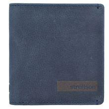 strellson Goldhawk Geldbörse Leder 9,5 cm blau Herren