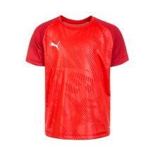 PUMA Trainingsshirt 'Cup' rot / dunkelrot