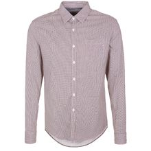 REPLAY Freizeithemd mit feinen Punkten-AT Kurzarmhemden bordeaux Herren
