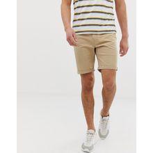 Jack & Jones – Shorts mit 5 Taschen in Sand-Beige
