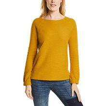 Cecil Damen Sweatshirt 311786, Gelb (Golden Lemonade 11197), XX-Large