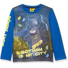 Lego Batman Jungen T-Shirt 161397, Bleu (Bleu), 10 Jahre (Hersteller Größe: 10 Jahre)