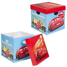 2er Set Disney Cars Aufbewahrungsbox mit Deckel