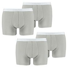 HEAD Men Boxershort 841001001-400 Basic Boxer 4er Pack grey, XL