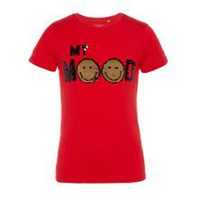 NAME IT T-Shirt gold / rot / schwarz / silber