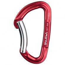 Salewa - Hot G3 Bent Carabiner - Schnappkarabiner rot/rosa/grau