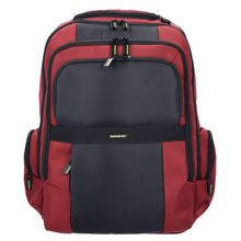 SAMSONITE Infinipak Business Rucksack 47 cm Laptopfach rot / schwarz