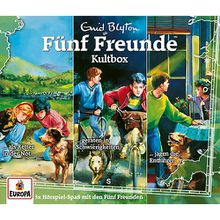 CD Fünf Freunde Box 35 Kultbox (Folgen 4,11,13) Hörbuch