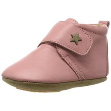Bisgaard Unisex Baby Velcro Star Pantoffeln, Pink (91 Rosa), 23 EU