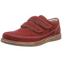 BIRKENSTOCK Shoes Tyler Kinder, Mädchen Derby Schnürhalbschuhe, Rot (Red), 31 EU