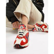 adidas Originals - Yung-1 - Sneaker in Rot-Bunt - Rot