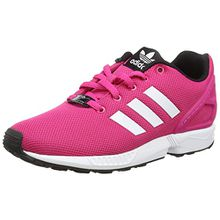 adidas Originals Unisex-Kinder ZX Flux Low-Top, Pink (EQT Pink S16/Ftwr White/Core Black), 36 EU