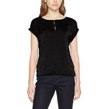 s.Oliver Damen T-Shirt 04.899.32.4783, Schwarz (Black 9999), 44