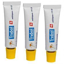 Vaude - Dento Fresh Refill (3-Pack) Gr 3 x 9,3 ml weiß/gelb
