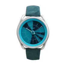 Calendar Smartwatch Armbanduhr aqua blue