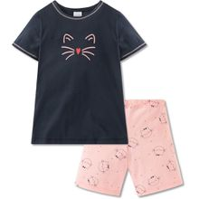 Schiesser zweiteiliger Schlafanzug - Katzen