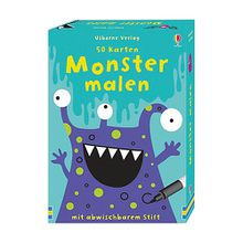 50 Karten: Monster malen