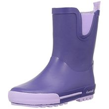Kamik Unisex-Kinder Rainplay Gummistiefel, Violett (Purple/Violet), 35 EU