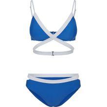 Urban Classics Bikini blau / weiß