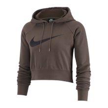Nike Sportswear - Swoosh Crop Damen Hoodie (braun) - L