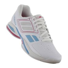 Babolat - Propulse Team Indoor Damen Tennisschuh (weiß/pink) - EU 40,5 - UK 7