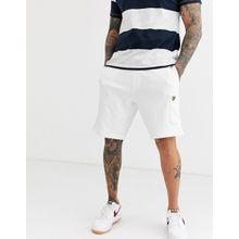 Lyle & Scott – Kurze Shorts mit Taschen-Weiß
