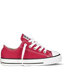 Converse Chucks Kids - YTHS CT ALLSTAR OX - Red, Schuhgröße:33