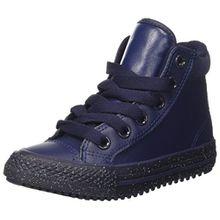 Converse Unisex-Kinder Trampki Chuck Taylor All Star Zehenkappen, Blau(Navy), 35 EU