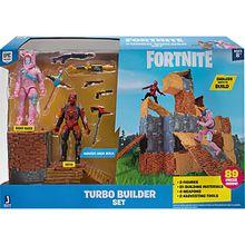 FORTNITE - Turbo Builder Set mit Spielfiguren Rabbit Raider und Vertex Serie 2