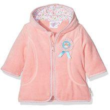 Sterntaler Baby-Mädchen Kapuzen-Jacke Nicki Peggy, Rosa (Light Coralle 708), 56