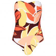 Seafolly - Cut Copy DD Bandeau Maillot - Bikini-Top Gr 10;12;14;16;18 schwarz/rosa;orange/beige/rot