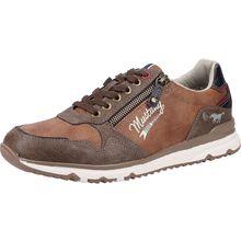 MUSTANG Sneaker Sneakers Low braun Herren