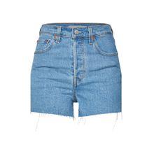 LEVI'S Shorts 'RIBCAGE' blue denim