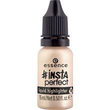 Essence Teint Highlighter Insta Perfect Liquid Highlighter Nr. 10 Gold Addiction 15 ml