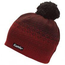 Eisbär - Dilkon Pompon MÜ - Mütze Gr One Size rot/schwarz