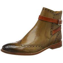 Melvin & Hamilton Damen Amelie 11 Stiefel, Beige (Crust/Cashmere/Strap Arancio/LS Nat.), 40 EU