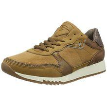 Tamaris Damen 23602 Sneaker, Braun (Muscat Comb 354), 40 EU