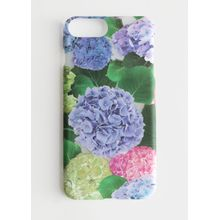 Hydrangea Flower iPhone Case - Purple