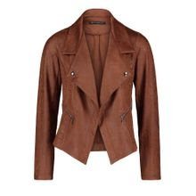 Betty Barclay Bikerjacke rostbraun