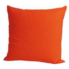 Baumwoll Kissenbezug 80x80 cm Farbe Orange