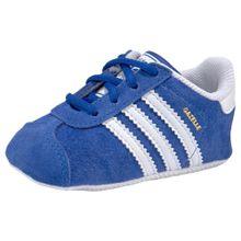 ADIDAS ORIGINALS Schuhe 'GAZELLE CRIB' blau / weiß