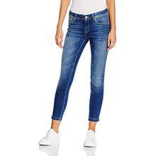 Mavi Damen Jeanshose Adriana Ankle Mid Str, Blau (Mid Str 22302), W32 (Herstellergröße: 32)