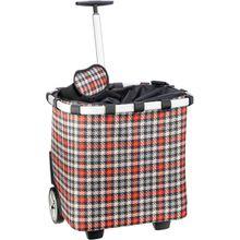 reisenthel Einkaufstasche carrycruiser Glencheck Red (40 Liter)