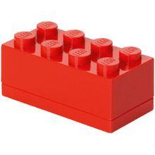 LEGO Aufbewahrungsdose Storage Brick 8er rot