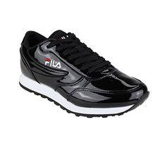 FILA Damen Orbit P Low Synthetik Sneaker Black Größe 39