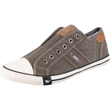 MUSTANG Slip-On-Sneaker grau Herren
