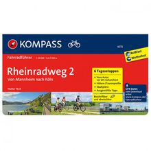 Kompass - Rheinradweg 2 Von Mannheim Nach Köln - Radführer RF 6272