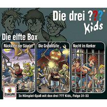 CD Die drei ??? Kids 11 - 3er Box (Folgen 31-33) Hörbuch