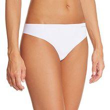Calvin Klein Damen String D3428E Invisibles Panties Thong, Gr. 38 (M), Weiß (100 White)